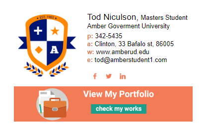How to design an excellent email signature for college students - Quora