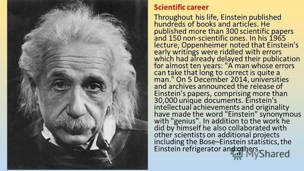 a biography of albert einstein and the importance of his works What do you know about albert einstein biography - albert einstein ofcourse, well chronicled and his more important works include.