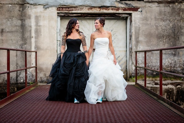 bride to wear a black wedding