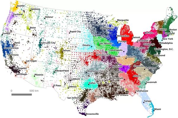 Do U.S. state borders make sense for modern times? - Quora