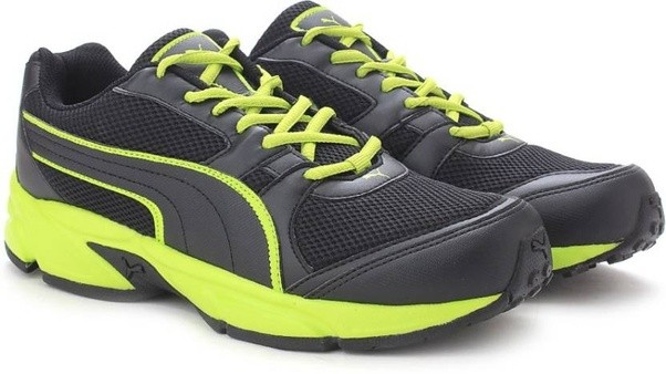 #5: Puma Men Running Shoes - Buy Puma Black-Limepunch Color Puma Men Running Shoes Online at Best Price - Shop Online for Footwears in India | Flipkart.com