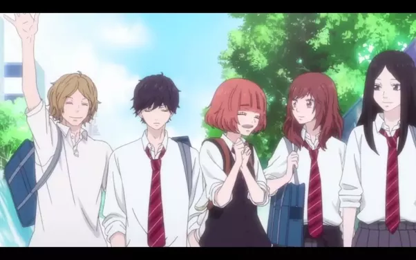 Ao Haru Ride Genres Comedy Drama Romance School Shoujo Slice Of Life If You Are Into Then I Would Suggest To Watch This Anime