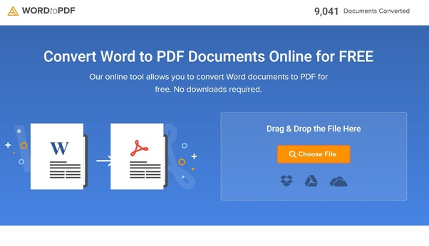 convert word to pdf online free instant