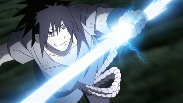 How come Sasuke never cared to learn the lightning blade ...