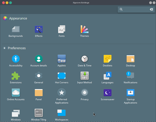 Is there a feature similar to the GNOME Shell extension in