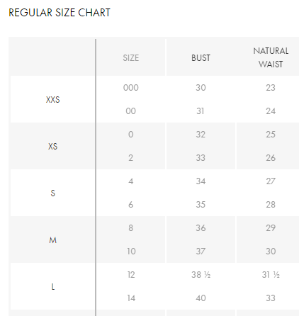 When online shopping do you check the size chart or just pick the