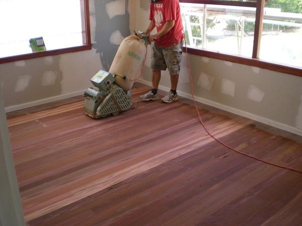 How To Refinish My Hardwood Floor Quora