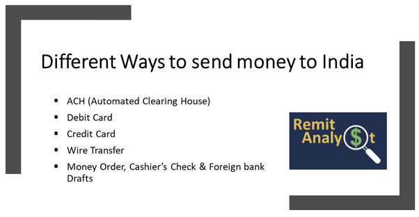 What Is The Est Way To Send Money