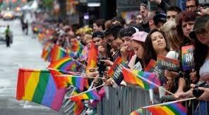 Gay pride overt sexuality and reproduction