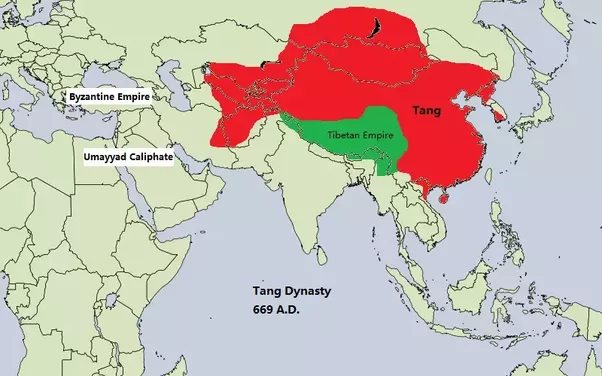How did china become enormous quora tangs area 1237 million km2 in 669 ad the largest empire on earth before umayyad caliphate reached 1340 million km2 in 750 ad sciox Gallery