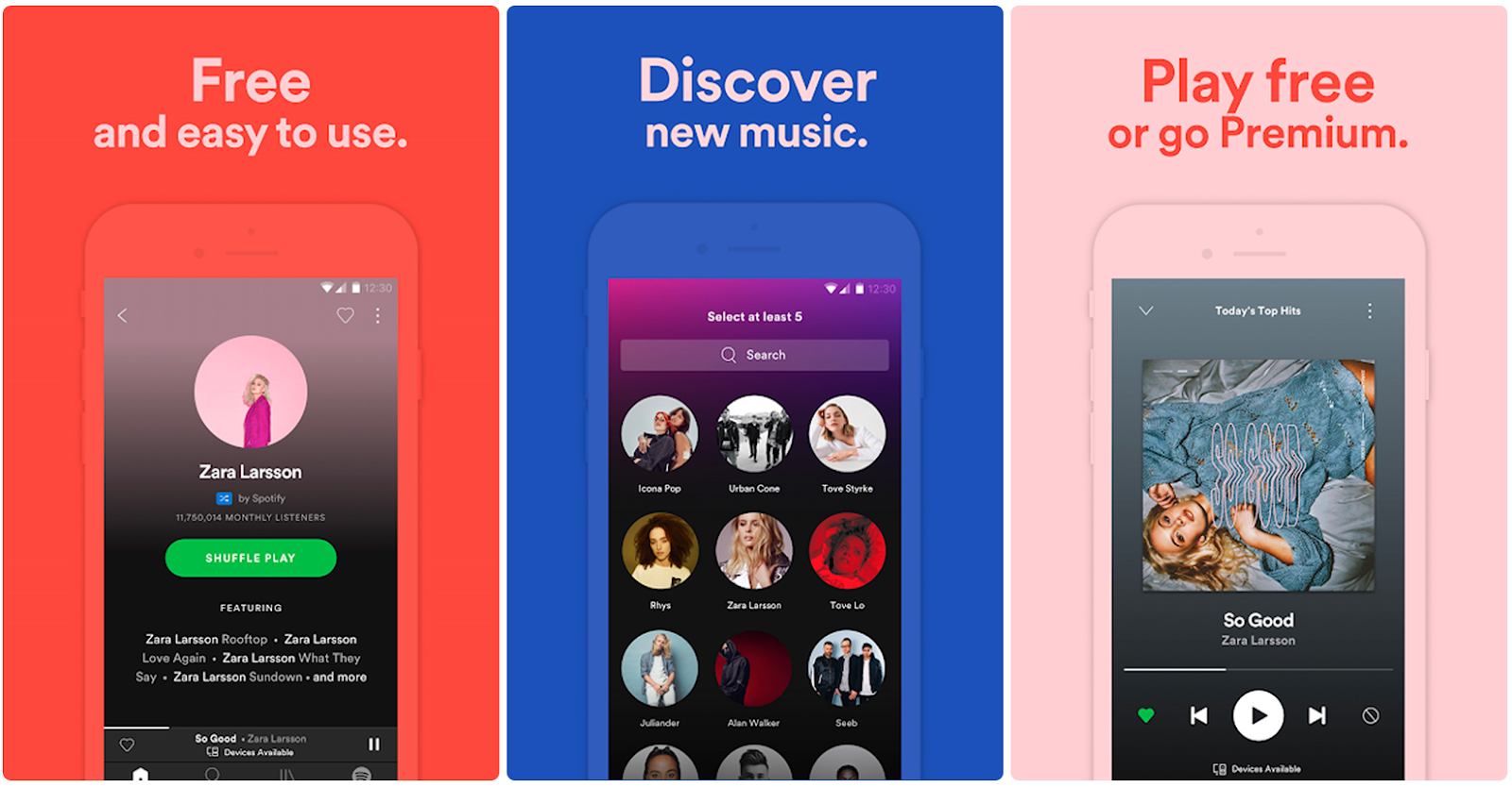 What's the technology behind a music streaming app like