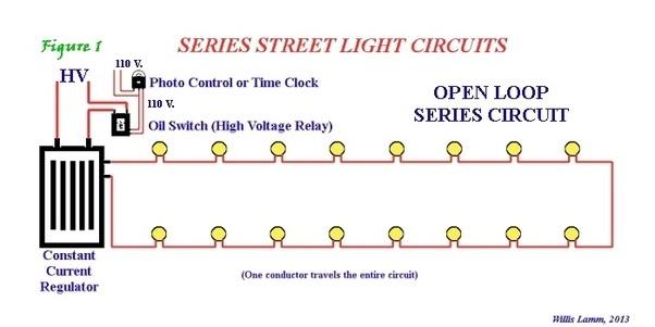series circuit lighting system
