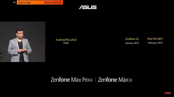 When will the Asus ZenFone Max Pro M1 get the Android Pie