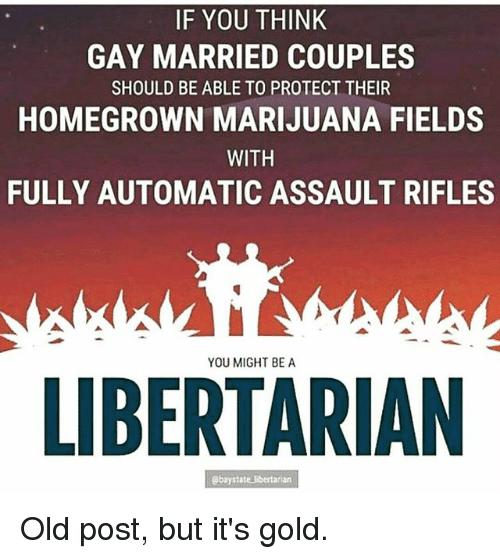 Libertarian gay marriage