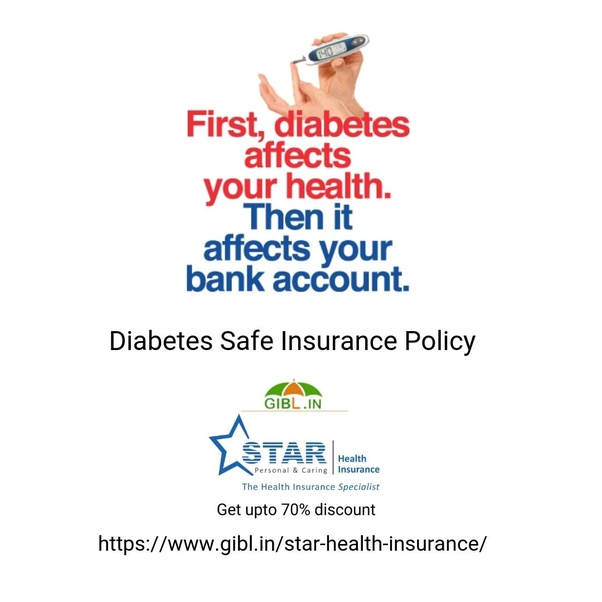 Is diabetes cover under star health insurance? - Quora