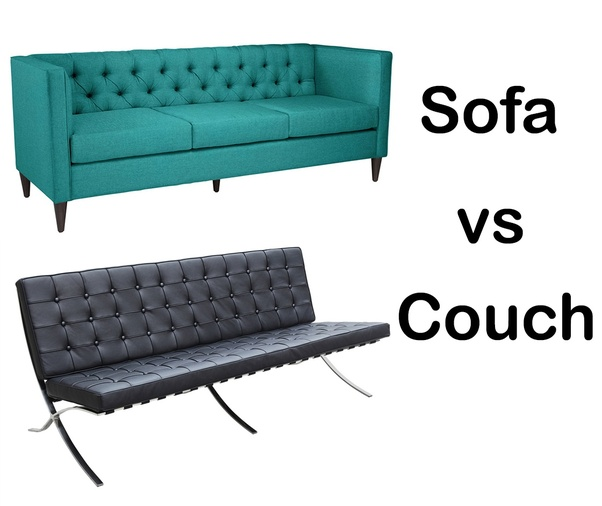 Difference Between A Sofa And Couch