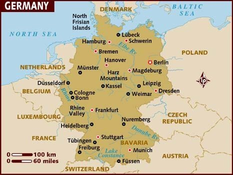 Map Of Germany Today.What Would A German From 1914 Think Of Germany Today Quora