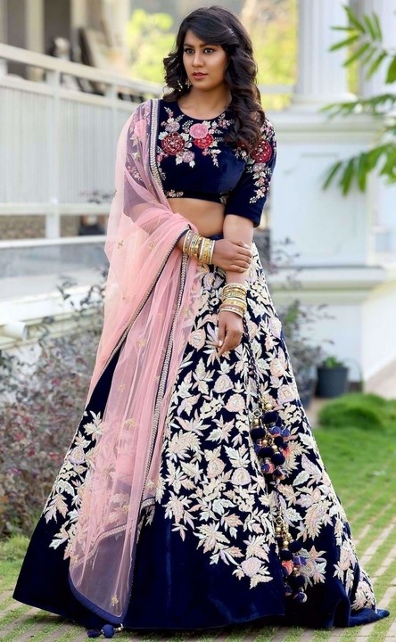eb47de8bd0 Which is the best color for lehenga in wedding? - Quora