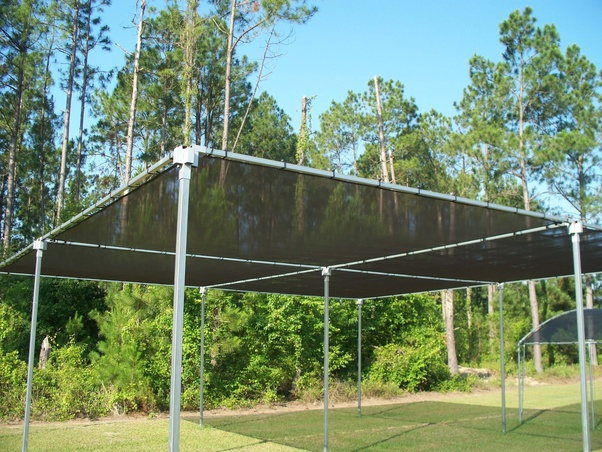 I Would Say That A Shade Structure Is The Best Way To Shade A Garden. You  Would Use A Shade Cloth Over A Structure Of Some Sort.