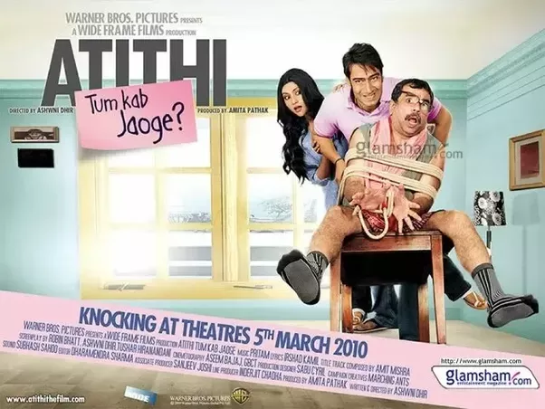 the Atithi Tum Kab Jaoge 2012 full movie download
