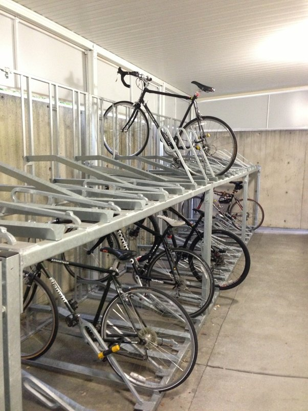 What are some well-designed solutions for indoor bicycle storage ...