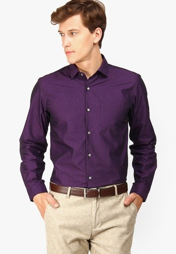 What should i wear with purple color shirt quora for What color shirt goes with brown pants