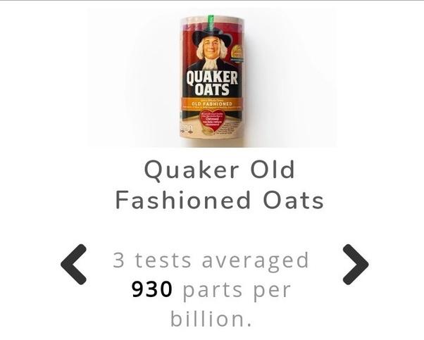 Quaker Oats a good and healthy choice