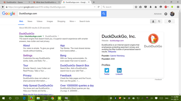 What Does DuckDuckGo Search Have To Offer That Other