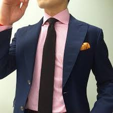 What colour tie should I wear with a pink shirt? - Quora