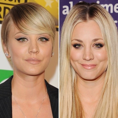 In An Interview With Ellen Degeneres Kaley Cuoco Sweeting Revealed That She Has Wanted To Cut Her Hair From A Long Time Couldn T It Because Of