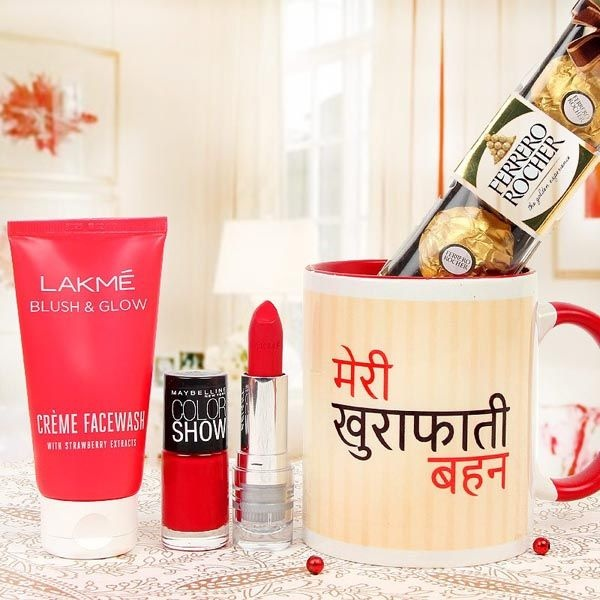 Your Sister Is The Bestest Gift From God Its Time To Pamper With A Lovely Hamper Which Can Bring Billion Dollar Smile On