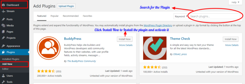 Adding Plugin To The Website Developed In WordPress Is A Simple Task