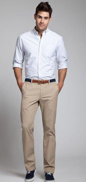 What are the various color combinations for chinos a for Shirt and pants color combinations