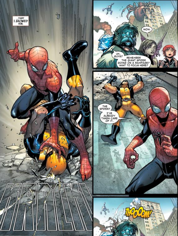 Who would win in a fight between Wolverine and Spider-Man? - Quora