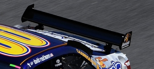 Nascar Pole Position >> Why do NASCAR races have a banked road rather a flat one ...