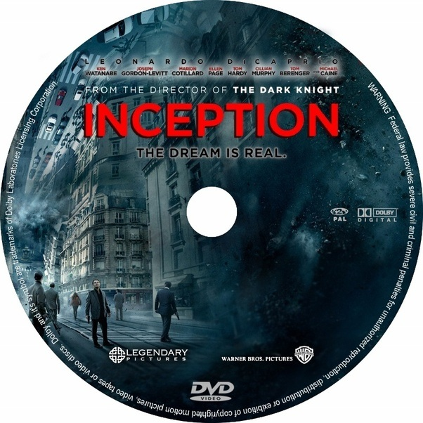 Inception Dvd Cover Art What are some of the m...
