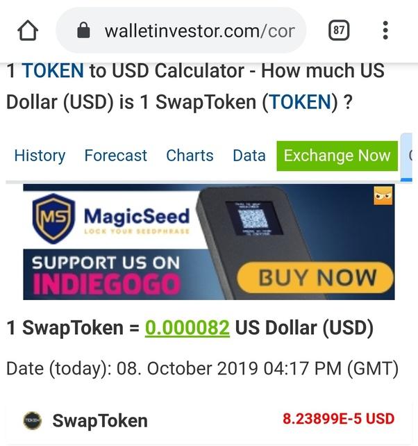 Asimi token value