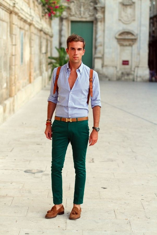 What Is The Best Combination Colour Shirt For A Green