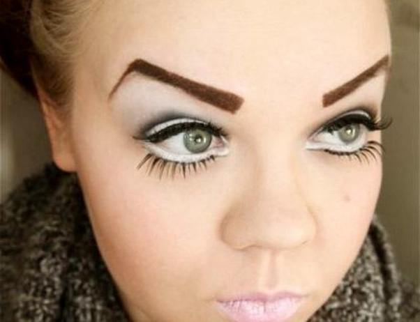 Are naturally looking eyebrows ugly for a girl? - Quora
