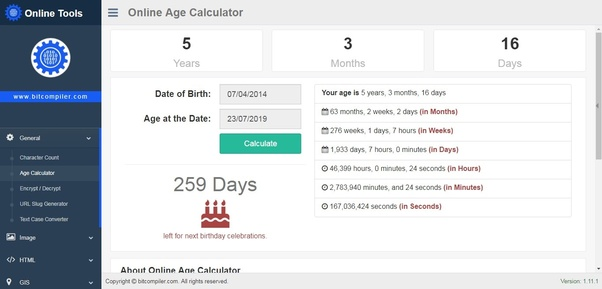 What is the correct way of calculating age? - Quora