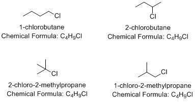How to find all the constitutional isomers of C4H9Cl - Quora