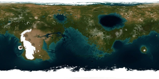 What if the world map was upside down quora and in the future someone on mars will ask what if the map of mars is actually upside down gumiabroncs Gallery