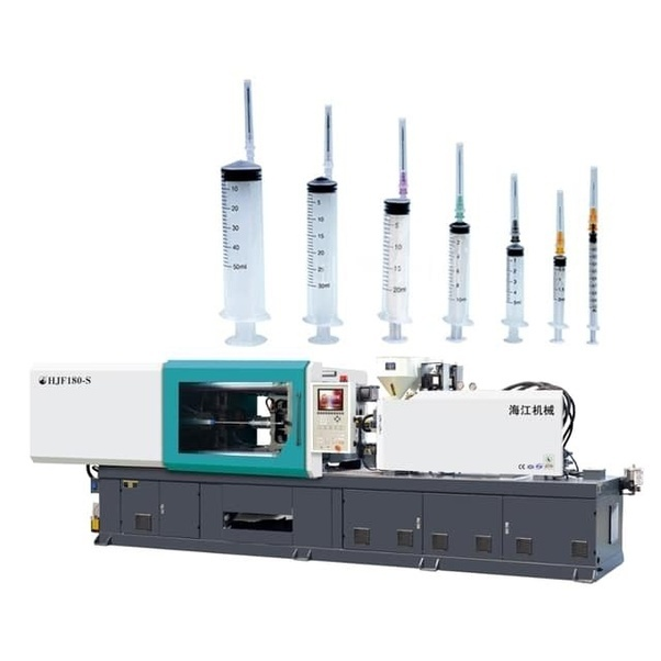What kind of injection molding machine can make a 48 syringe