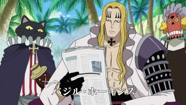 How strong is Basil Hawkins in One Piece? - Quora