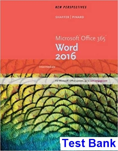 Where Can I Read New Perspectives Microsoft Office 365 And Word 2016