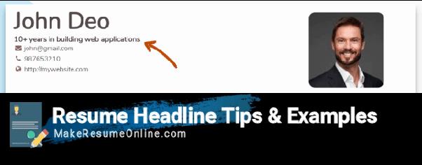 What Is Resume Headline Quora