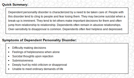 What are your results on the 4degreez Personality Disorder Test? - Quora