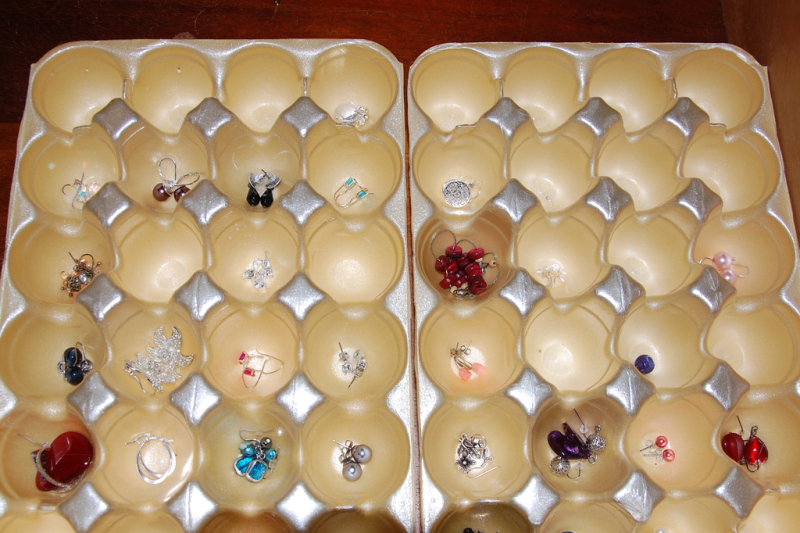 What Is The Best Way To Store Ear Rings So That They Are Easily