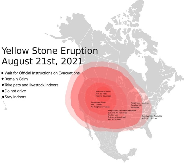 Will Yellowstone Erupt On August 21st 2021 Or Is The