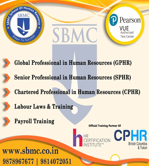 what is the best training institute for sphr in india? - quora
